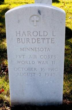Harold L Burdette