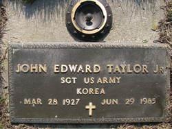 Sgt John Edward Taylor, Jr