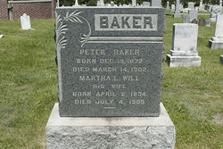 Martha L <I>Will</I> Baker