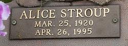 Alice <I>Stroup</I> Brantley