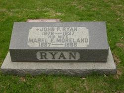 Mabel E <I>Moreland</I> Ryan