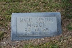 Marie <I>Newton</I> Mason