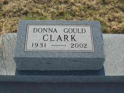 Donna Clare <I>Gould</I> Clark