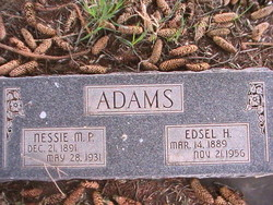 Nessie Mecham <I>Packer</I> Adams
