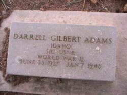 Darrell Gilbert Adams
