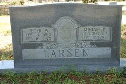 Peter W Larsen