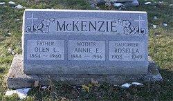 Annie E <I>Winner</I> McKenzie
