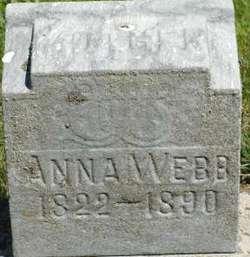 Anna <I>Huntsinger</I> Webb