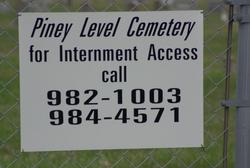 Piney Level Cemetery