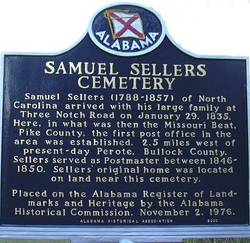 Old Sellers Cemetery