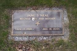 Jane Summers <I>Pursley</I> Neal