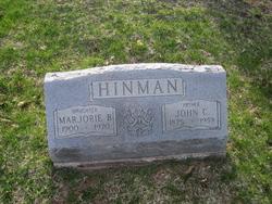 Marjorie B. Hinman