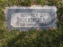 Godfrey J Badertscher