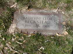 Katherine Clow <I>Foster</I> Beckstead