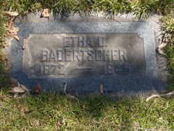 "Ethelda ""Etha"" <I>Dunshee</I> Badertscher"
