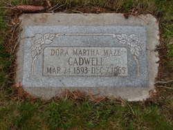 Dora Martha <I>Maze</I> Cadwell