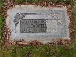 Alexander Barzilla Cadwell
