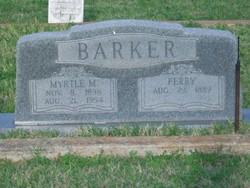Myrtle Mary <I>Norton</I> Barker