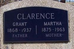 Martha Jane <I>Hollett</I> Clarence