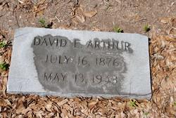David E Arthur