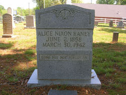 Alethea Alice <I>Nixon</I> Raney