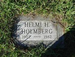 Helmi Helena <I>Holm</I> Holmberg