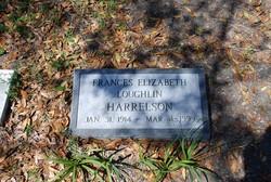 Frances Elizabeth <I>Loughlin</I> Harrelson