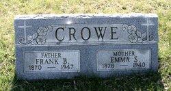 "Benjamin Franklin ""Frank"" Crowe"