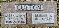 "Allen A. ""Jack"" Guyton"