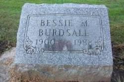Bessie M <I>Rhodes</I> Burdsall