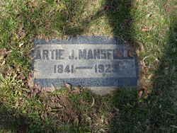 Artie Jane <I>Paine</I> Mansfield
