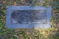Florence Huggins Whitney