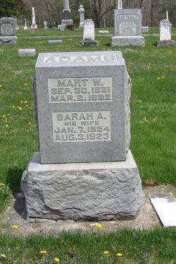 "Marcellus W. ""Mart"" Adams"