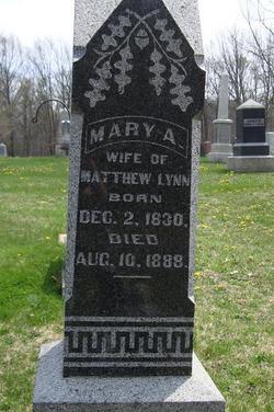 Mary Ann <I>Payne</I> Lynn