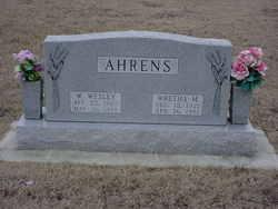 Wretha May <I>Busby</I> Ahrens