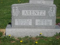 Beatrice Alberta <I>Sterner</I> Arentz