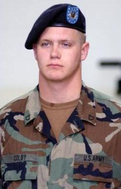 SPC Dustin Scot Colby