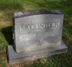Mary Mollie Elizabeth <I>Shappell</I> McClintock