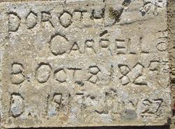 Dorothy <I>Pectol</I> Carrell