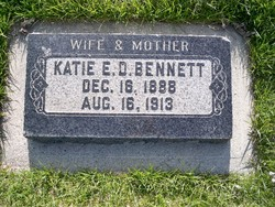 Katie Esther <I>Douglass</I> Bennett