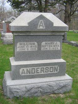 Mary Jane <I>Overmyer</I> Anderson