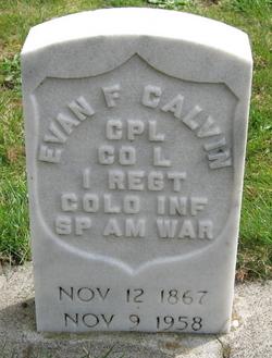 Evan Frederick Calvin