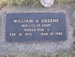 William Archie Greene