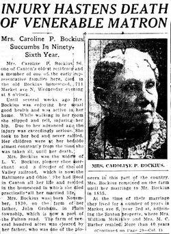 Caroline Page <I>Graham</I> Bockius