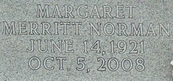 Margaret June <I>Merritt</I> Spoon