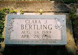 Clara J. Bertling