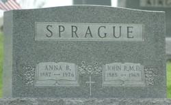 Anna Bernadine <I>Devlin</I> Sprague