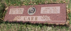 """Jane """"Jen"""" Carr"""