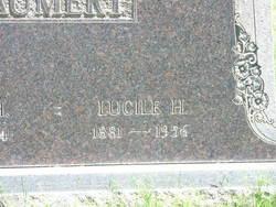 Lucille H <I>Tobin</I> Baumert