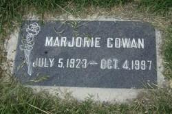 Marjorie Cowan